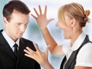Излишние эмоции в ссоре