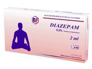 Диазепам для лечения расстройства личности