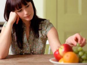 Отсутствие аппетита у больных кататоническим ступором