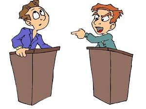Мозговой штурм в процессе дебатов