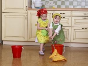Помощь детей по хозяйству