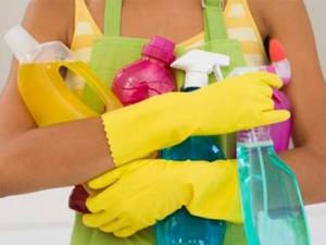 Набор хороших средств для более быстро уборки