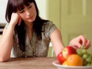 Отсутствие аппетита при внутренней подавленности