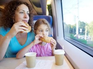 Перекус в поезде