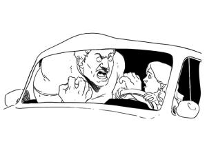 Плохой инструктор по вождению