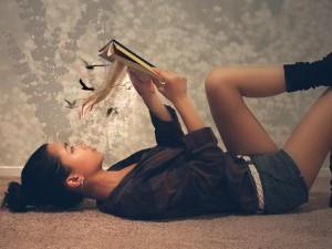 Чтение литературы для пополнения словарного запаса