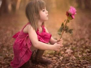 Розовый - любимый цвет детей