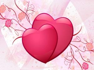 Розовый цвет - символ любви