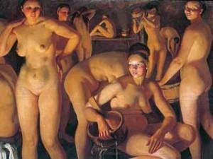 Нудизм в общественных банях