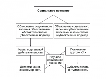 Структура социального познания