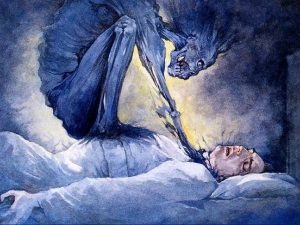 Удушье во сне